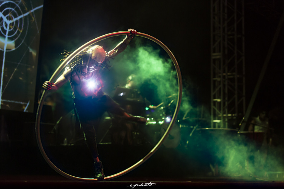 Danni G Coachella 2014 Gobi Stage